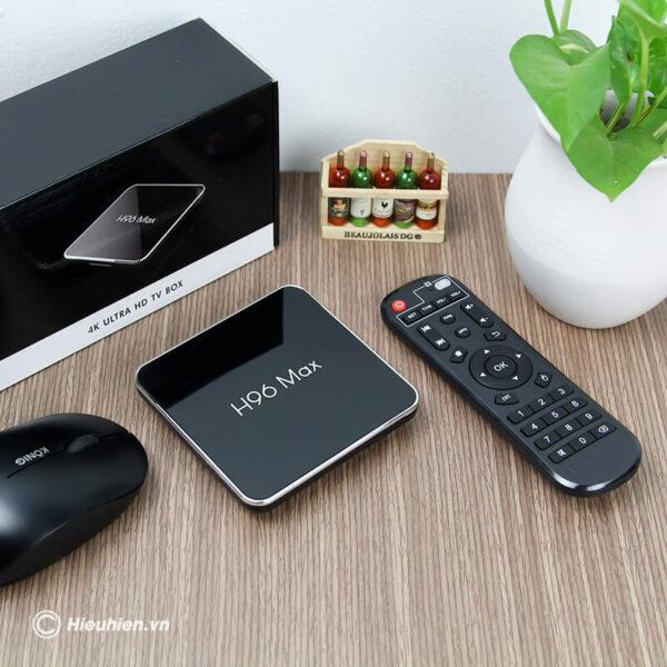 android tv box h96 max x2 cấu hình ram 2gb rom 32gb - hình 05