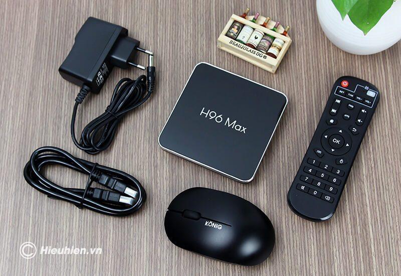 android tv box h96 max x2 cấu hình ram 2gb rom 32gb - hình 07