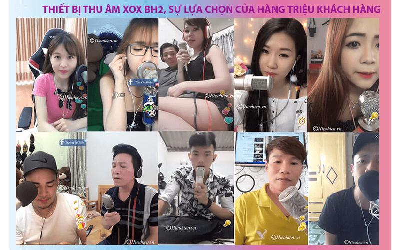 combo xox bh2 - thiết bị thu âm, livestream, hát karaoke trên điện thoại - hình 03