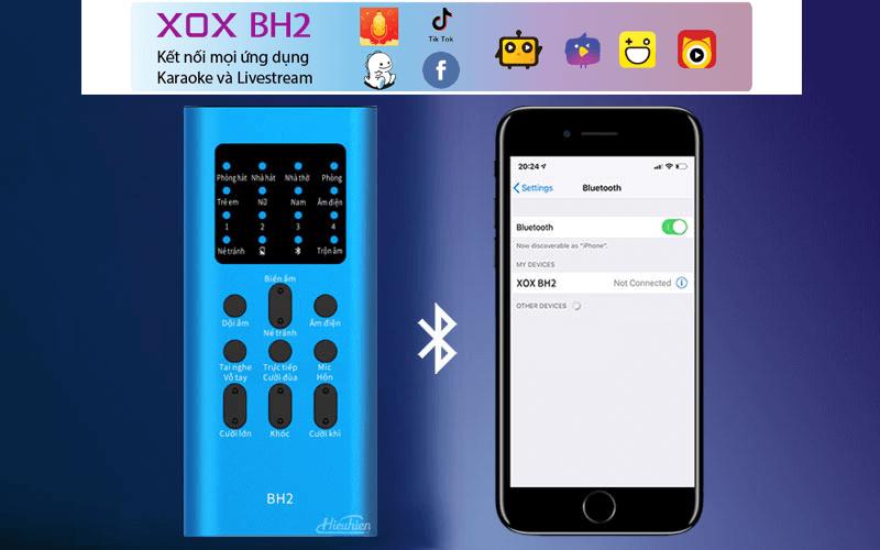 combo xox bh2 - thiết bị thu âm, livestream, hát karaoke trên điện thoại - hình 05