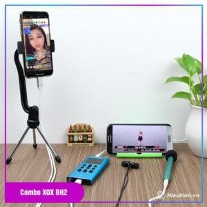 thiết bị thu âm combo xox bh2 - chuyên livestream, hát karaoke trên điện thoại - hình 01