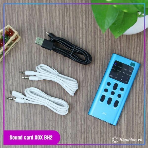 thiết bị thu âm combo xox bh2 - chuyên livestream, hát karaoke trên điện thoại - hình 07
