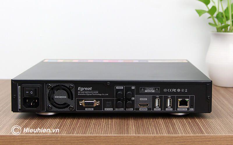 egreat a8 pro - đầu karoke kiêm đầu phát 4k hdr cao cấp - hình 11