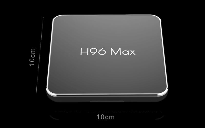 enybox h96 max x2 2gb/16gb android 8.1 tv box amlogic s905x2 - hình 05