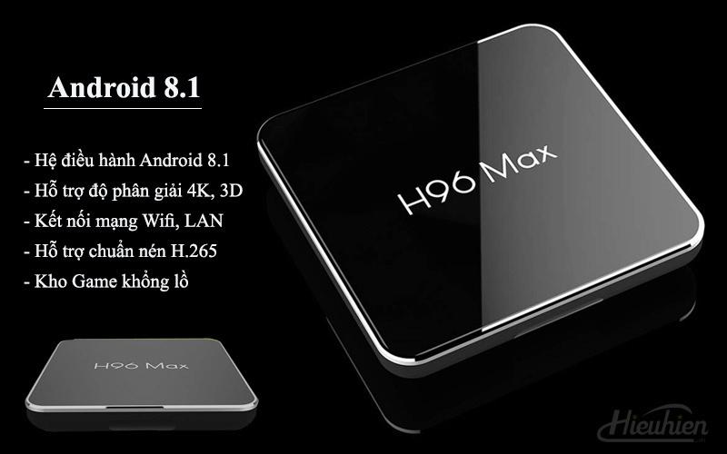 enybox h96 max x2 2gb/16gb android 8.1 tv box amlogic s905x2 - hình 09