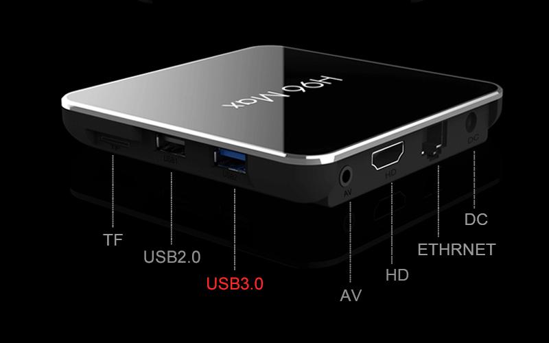 enybox h96 max x2 2gb/16gb android 8.1 tv box amlogic s905x2 - hình 12