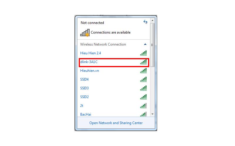 hướng dẫn cấu hình bộ phát wifi d-link dir-822 qua trình duyệt web máy tính - hình 01