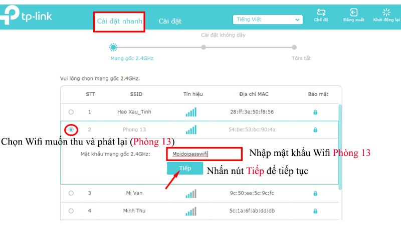 hướng dẫn cách cài đặt tp-link tl-wa855re bộ mở rộng sóng wifi tốc độ cao - hình 06