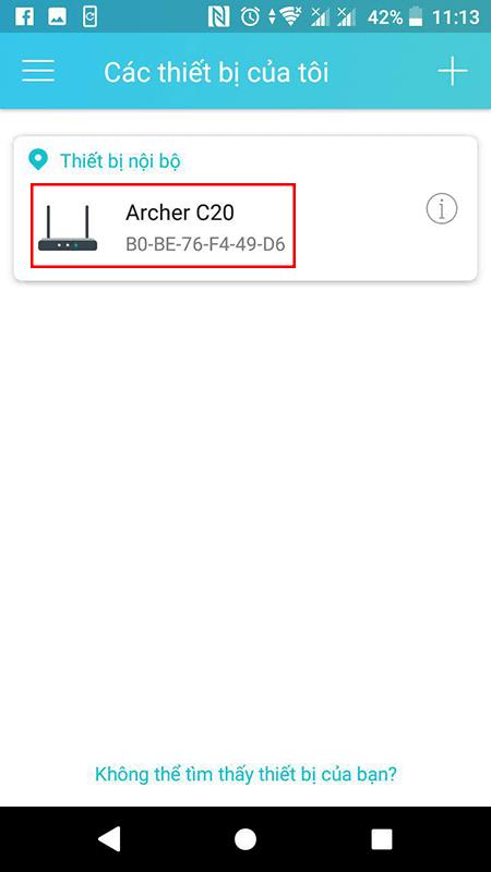 cách cấu hình bộ phát wifi tp-link archer c20 bằng ứng dụng tether - hìn 04