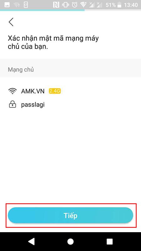 cách cấu hình bộ kích sóng wifi tp-link tl-wa855re bằng app tether - hình 07