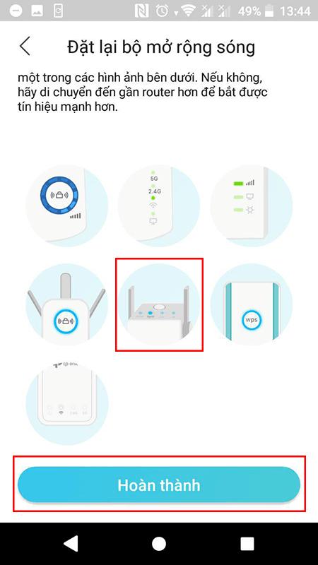 cách cấu hình bộ kích sóng wifi tp-link tl-wa855re bằng app tether - hình 11