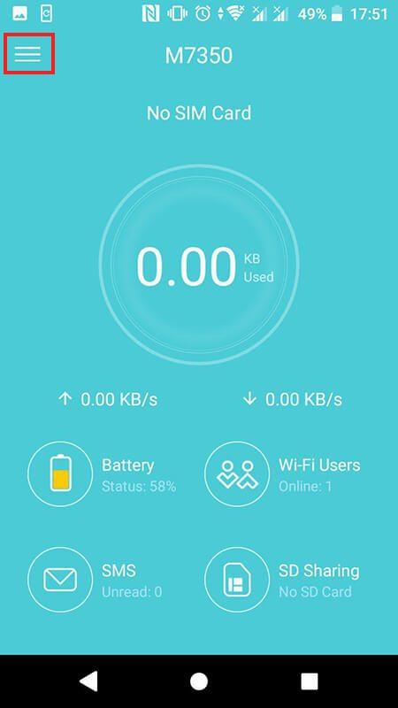 cách cấu hình bộ phát wifi 4g tp-link m7350 bằng ứng dụng tpmifi hình 09