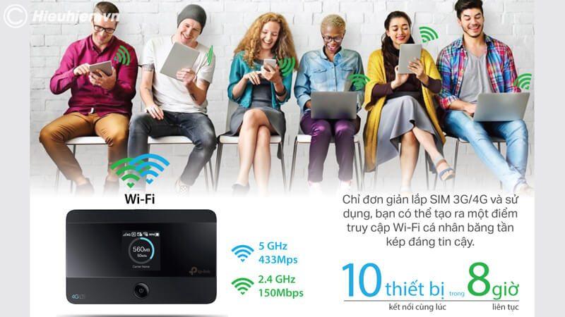 hướng dẫn cấu hình tp-link m7350 - bộ phát wifi 4g di động qua trình duyệt web - hình 11