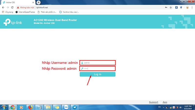 hướng dẫn cài đặt tp-link archer C50 để phát wifi trên cả 2 băng tần - hình 05