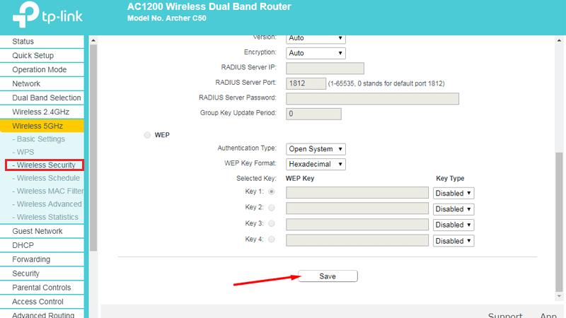 hướng dẫn cài đặt tp-link archer C50 để phát wifi trên cả 2 băng tần - 5ghz save mật khẩu
