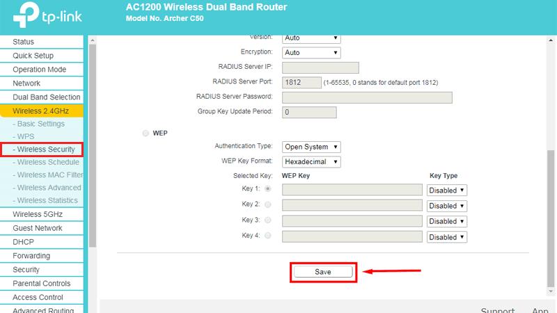 hướng dẫn cài đặt tp-link archer C50 để phát wifi trên cả 2 băng tần - save