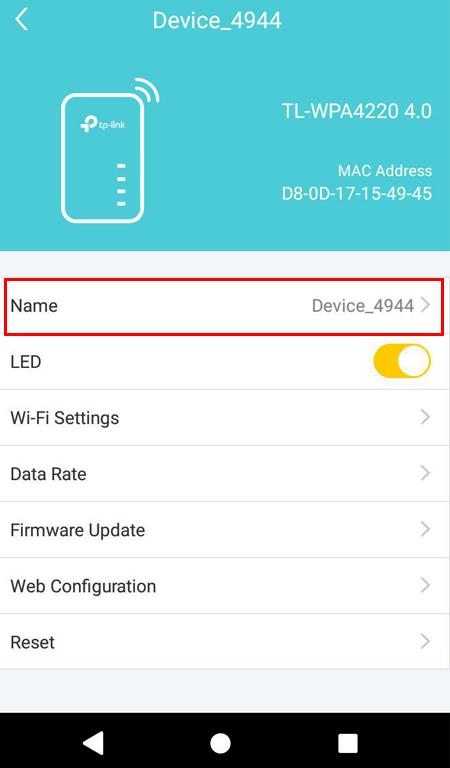 hướng dẫn cấu hình tp-link tl-wpa4220kit bằng ứng dụng tpplc- trên điện thoại - hình 06