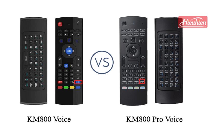 hướng dẫn tìm kiếm bằng giọng nói trên android tv box - chuột bay km800 voice và km800 pro voice