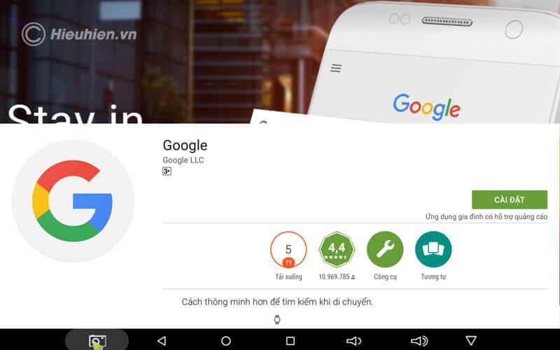 hướng dẫn tìm kiếm bằng giọng nói trên android tv box - hình 02