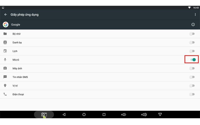 hướng dẫn tìm kiếm bằng giọng nói trên android tv box - hình 05