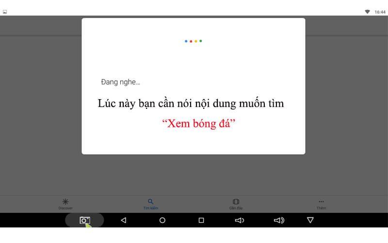 hướng dẫn tìm kiếm bằng giọng nói trên android tv box - hình 10