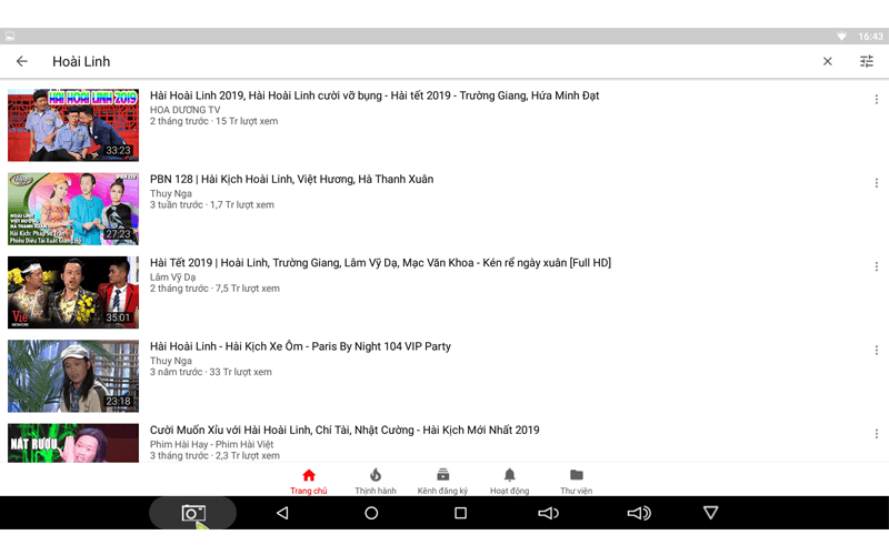 hướng dẫn tìm kiếm bằng giọng nói trên android tv box - hiển thị nội dung