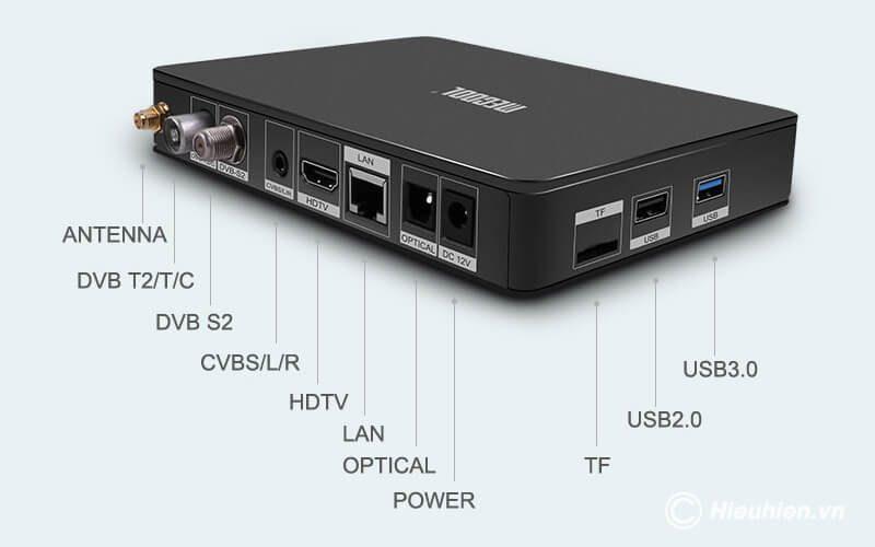 mecool k6 android 7.0 tv box tích hợp đầu thu truyền hình dvb-s2-t2-c - hình 16