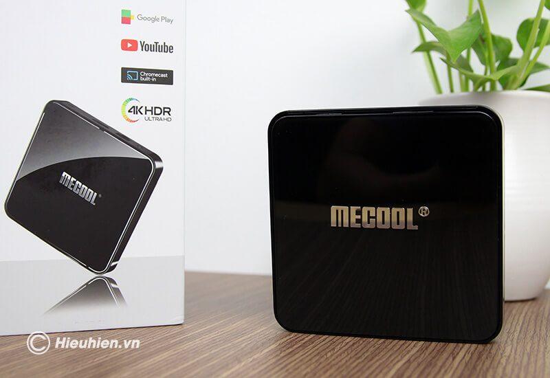 mecool km3 chạy hệ điều hành android tv 9 cùng cấu hình cao ram 4gb rom 64gb