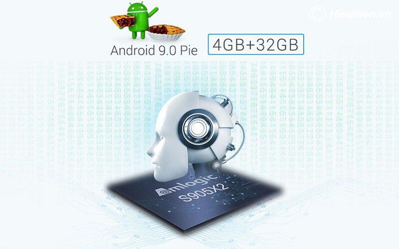 mecool km9 pro android tv 9.0 chip s905x2 4gb/32gb, có voice remote - hình 20