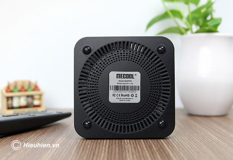 mecool km9 pro android tv 9.0 cấu hình cao chip s905x2, ram 4gb rom 32gb, có voice remote - hình 04