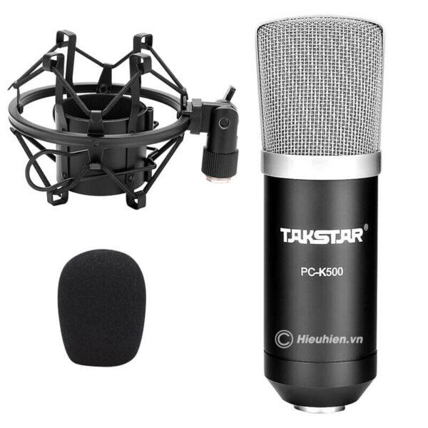 takstar pc-k500 - micro thu âm condenser cao cấp - hình 02