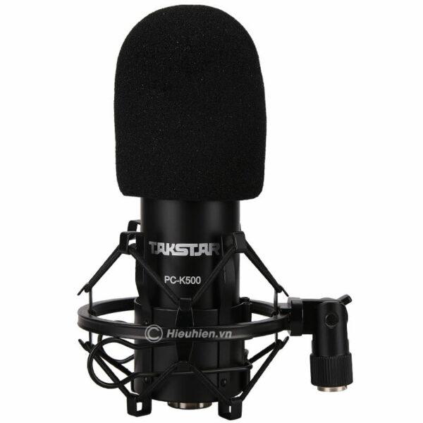 takstar pc-k500 - micro thu âm condenser cao cấp - hình 03