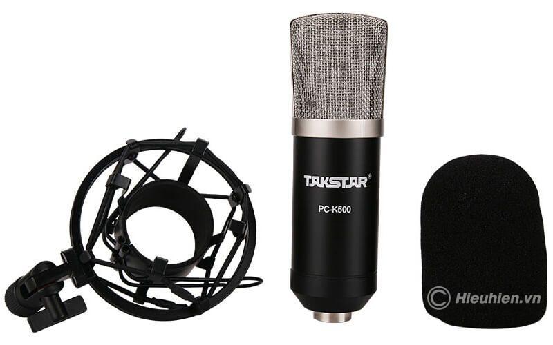 takstar pc-k500 - micro thu âm condenser cao cấp - hình 05