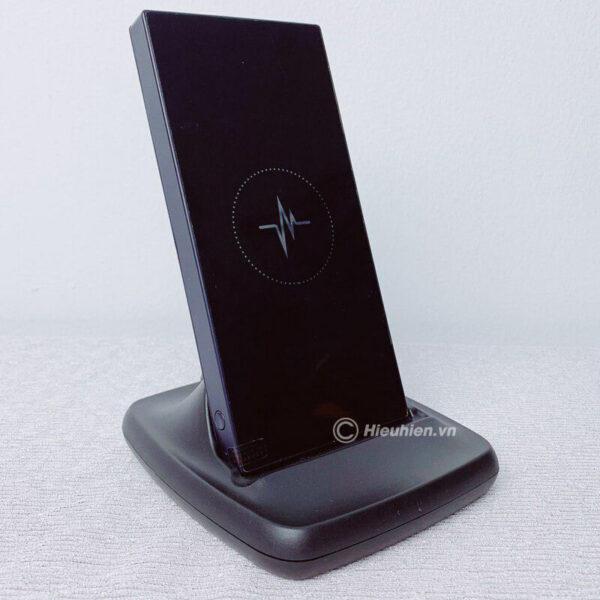 pin sạc dự phòng không dây chuẩn qi z01 10.000mah - hình 01