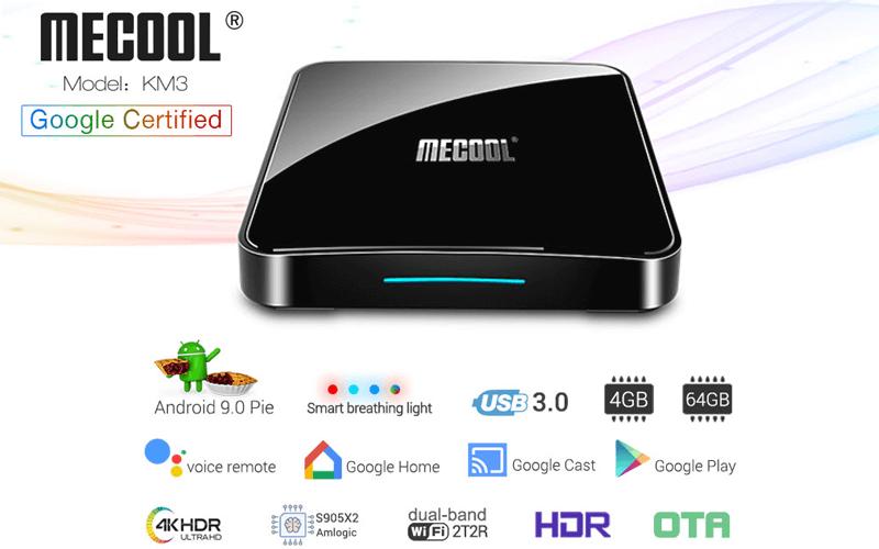 so sánh android tv box mecool km3 và mecool km9 pro - hình 01