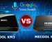 so sánh android tv box mecool km3 và mecool km9 pro
