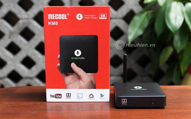 so sánh mecool km8 và fpt play box+ 2019, nên chọn android tv box nào - mecool km8
