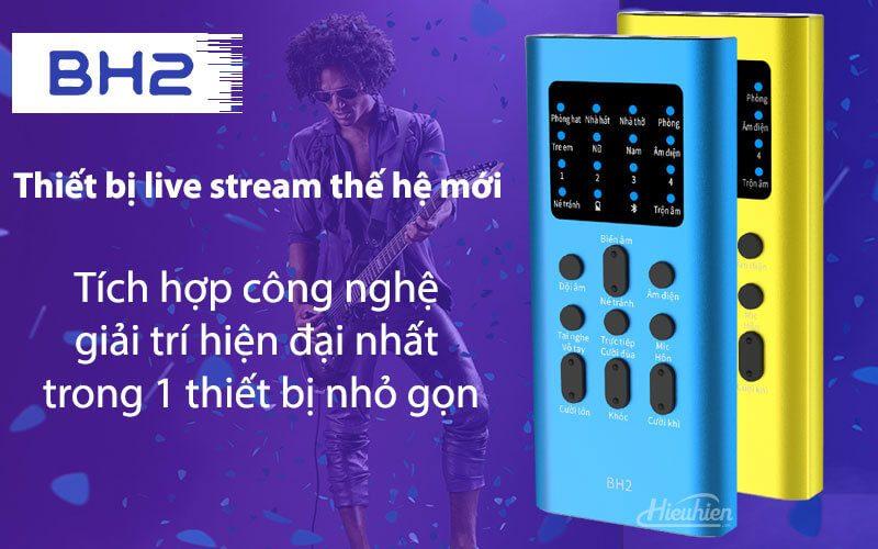 xox bh2 - sound card hát karaoke, hát live stream cho điện thoại - hình 01