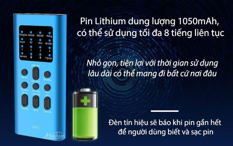 xox bh2 - sound card hát karaoke, hát live stream cho điện thoại - hình 03
