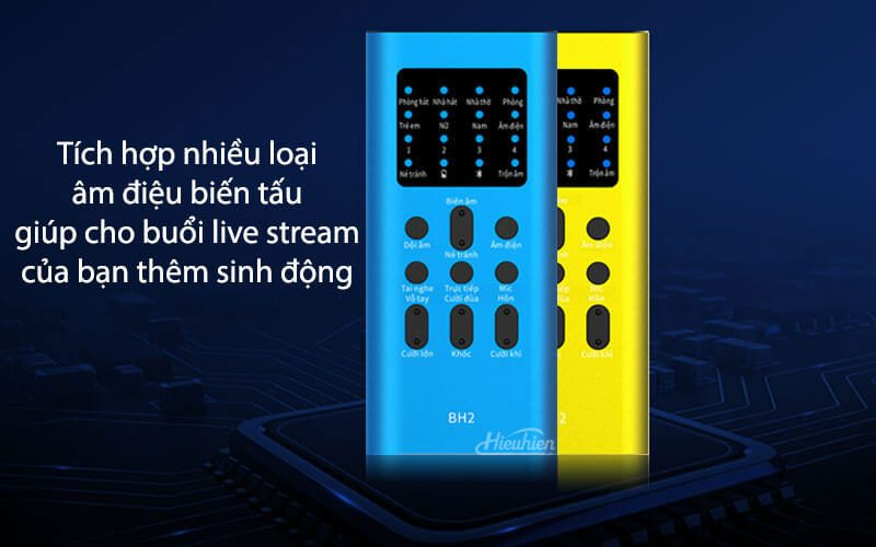 xox bh2 - sound card hát karaoke, hát live stream cho điện thoại - hình 05
