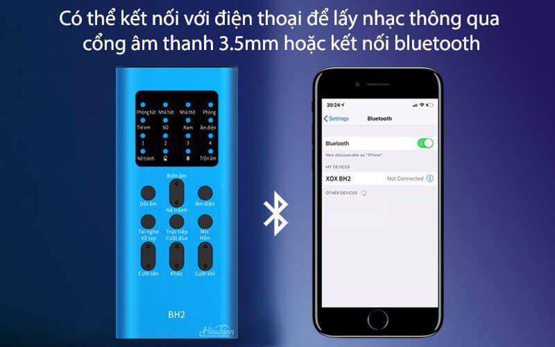 xox bh2 - sound card hát karaoke, hát live stream cho điện thoại - hình 06
