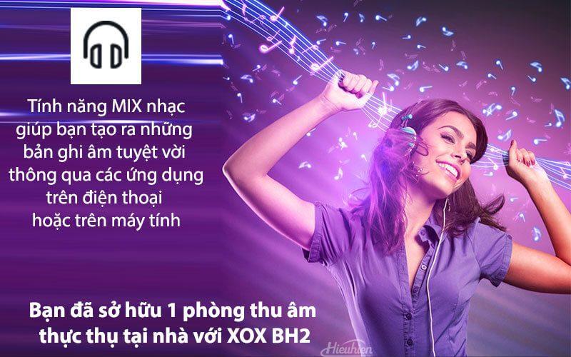 xox bh2 - sound card hát karaoke, hát live stream cho điện thoại - hình 08