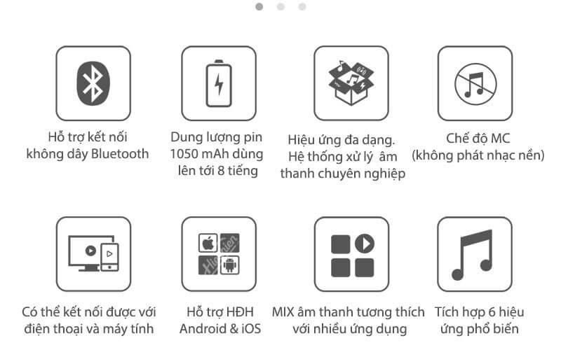 xox bh2 - sound card hát karaoke, hát live stream cho điện thoại - hình 12