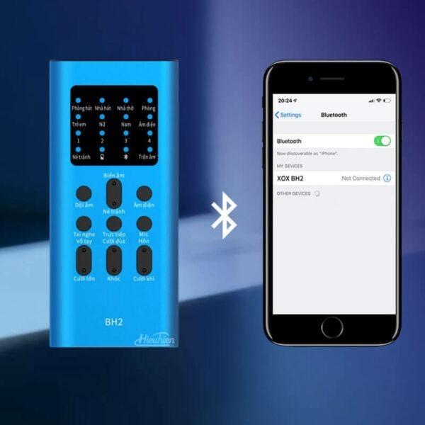 xox bh2 - sound card hát karaoke, hát live stream cho điện thoại - hình 18