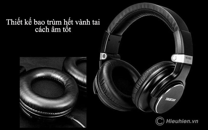 takstar hd 5500 - tai nghe kiểm âm chuyên nghiệp cao cấp - hình 11