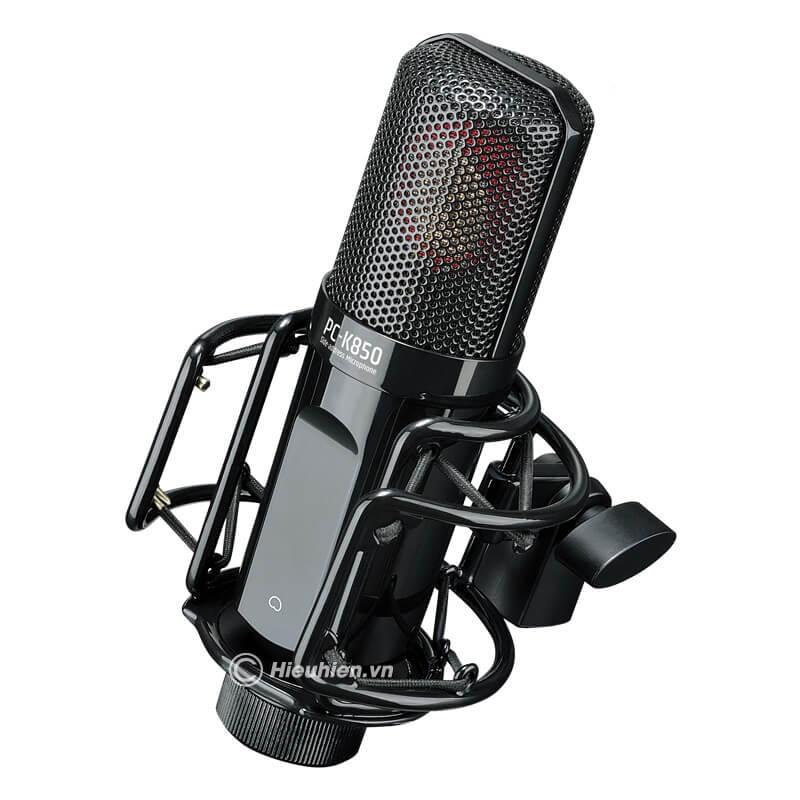 takstar-pc-k850 micro thu âm cao cấp, hát karaoke chuyên nghiệp âm thanh cực hay - hình 02