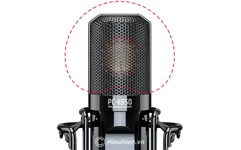 takstar-pc-k850 micro thu âm cao cấp, hát karaoke chuyên nghiệp âm thanh cực hay - hình 07
