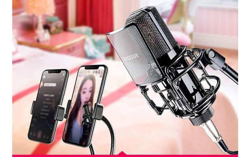 takstar-pc-k850 micro thu âm cao cấp, hát karaoke chuyên nghiệp âm thanh cực hay - hình 09