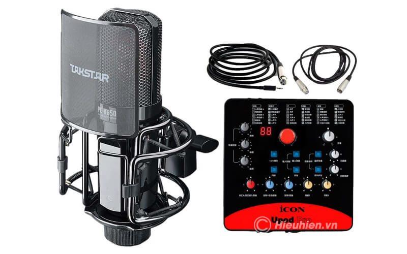 takstar-pc-k850 micro thu âm cao cấp, hát karaoke chuyên nghiệp âm thanh cực hay - hình 10