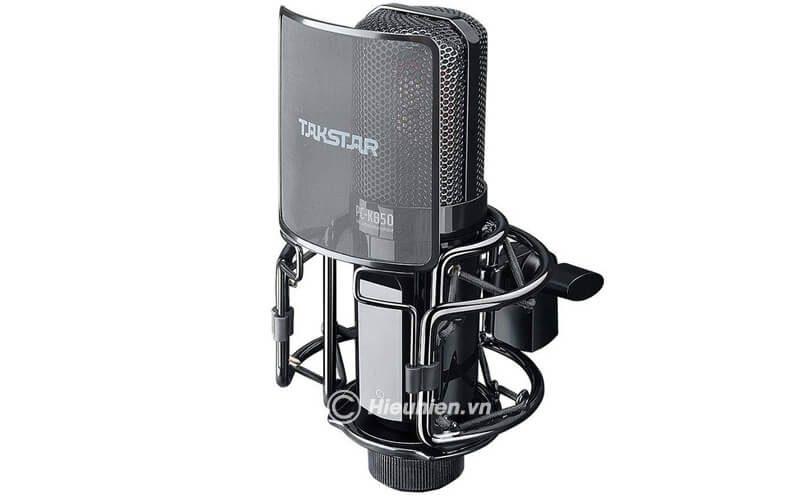 takstar-pc-k850 micro thu âm cao cấp, hát karaoke chuyên nghiệp âm thanh cực hay - hình 12